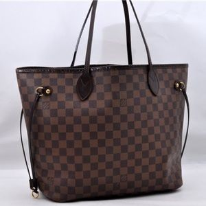 Louis Vuitton Damier Neverfull MM tote